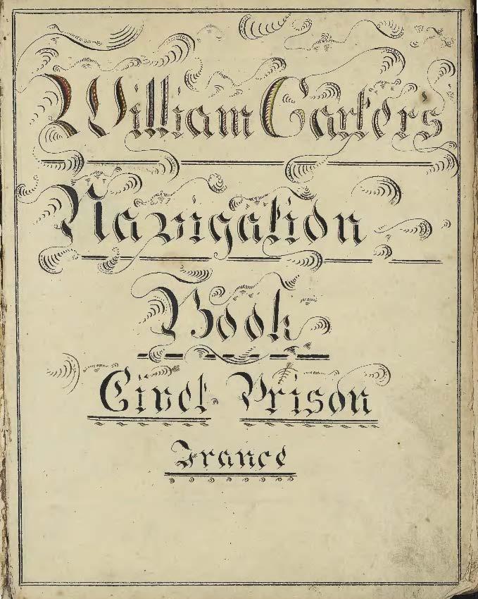 William Carter navigation book